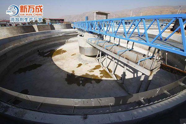 工业废水消泡剂在工业废水中的应用